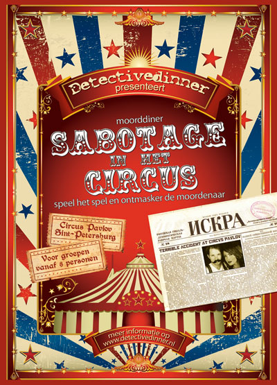 Moorddiner Sabotage in het circus